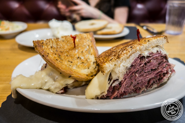Pastrami reuben at Sarge's deli in NYC