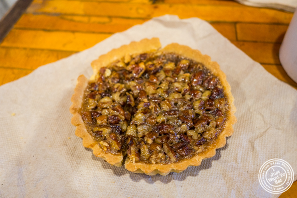 Bourbon Pecan Pie at The Gumbo Bros in Brooklyn