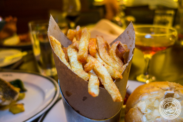 French fries at The National in NYC, NY