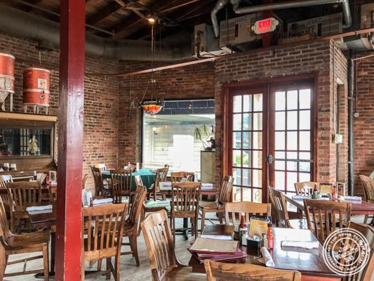 Dining room at JJ Bitting Brewery Co in Woodbridge, NJ