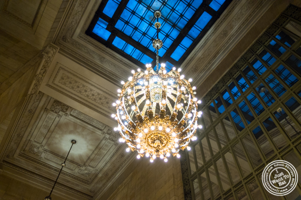 Chandelier at Michael Jordan's Steakhouse in Grand Central Terminal