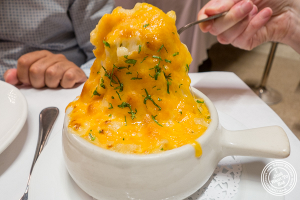 Mac and cheese at Michael Jordan's Steakhouse in Grand Central Terminal