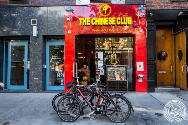 The Chinese Club in Williamsburg, Brooklyn