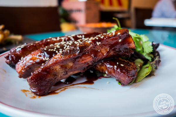 Peking style pork ribs at The Chinese Club in Williamsburg, Brooklyn