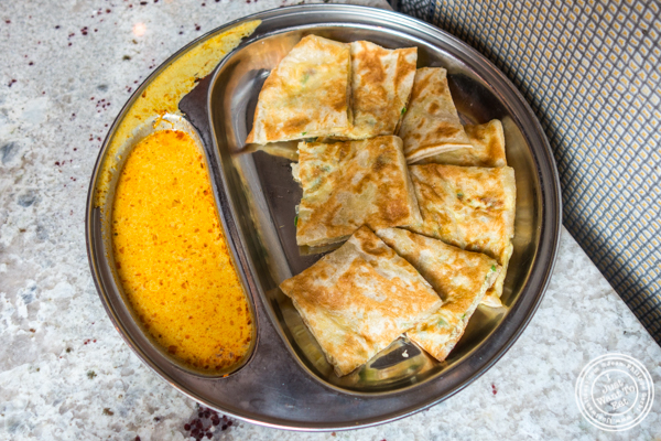 Roti Telur at Laut in NYC, NY