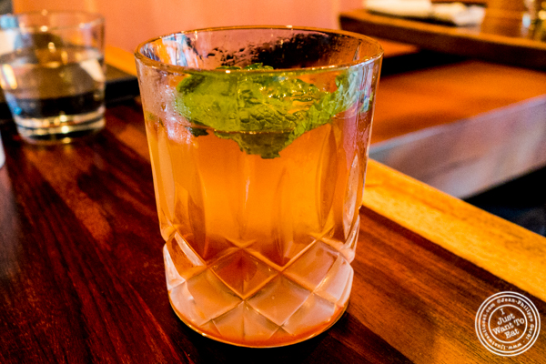 Japanese Old Fashioned at Amami in Greenpoint, Brooklyn