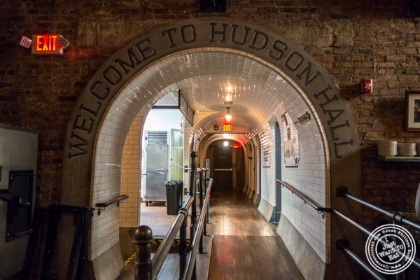 The tunnel at Hudson Hall in Jersey City, NJ