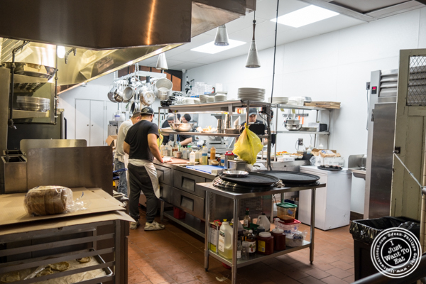 Kitchen at Hudson Hall in Jersey City, NJ