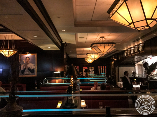 Dining room at The Capital Grille in NYC, NY