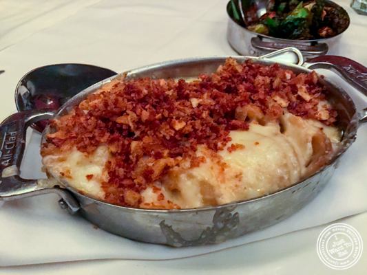 Potatoes au gratin at The Capital Grille in NYC, NY