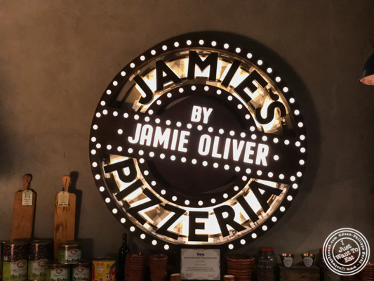 Jamie's Pizzeria at The Ambience Mall in Gurgaon, India