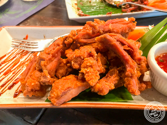 Slow fried chicken at Soi 7 Pub & Brewery at The Cyber Hub in Gurgaon, India
