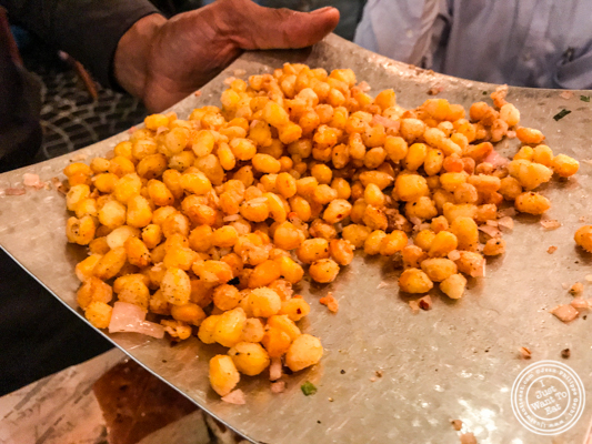 Fried corn at Pirates of Grill at The Mall of India, Noida