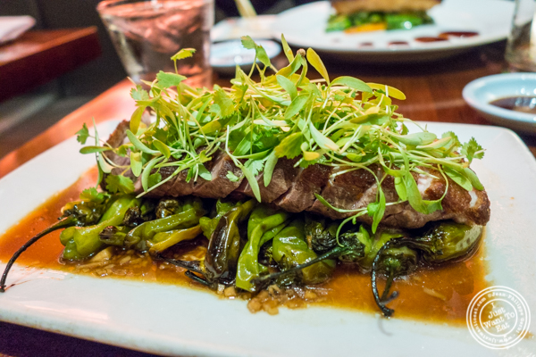Roasted duck breast at Koi Bryant Park