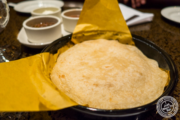 Tortilla at Sinigual in Murray Hill, NYC, NY