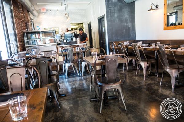 Dining room at Otto Strada in Hoboken, NJ