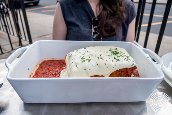 Melanzane alla parmigiana at Otto Strada in Hoboken, NJ