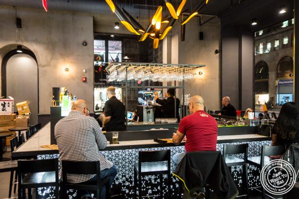 Bar at Dons Bogam Black in NYC, NY