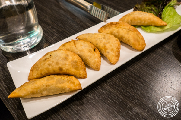 Fried dumplings at Dons Bogam Black in NYC, NY