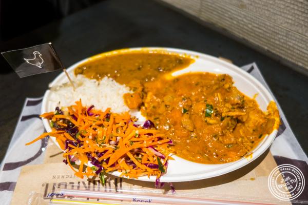 Chicken tikka masala at Indikitch in NYC, NY