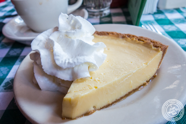 Key lime pie at JG Melon on the Upper East Side