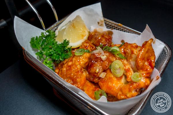 Fried chicken at Yakiniku Futago in NYC, NY