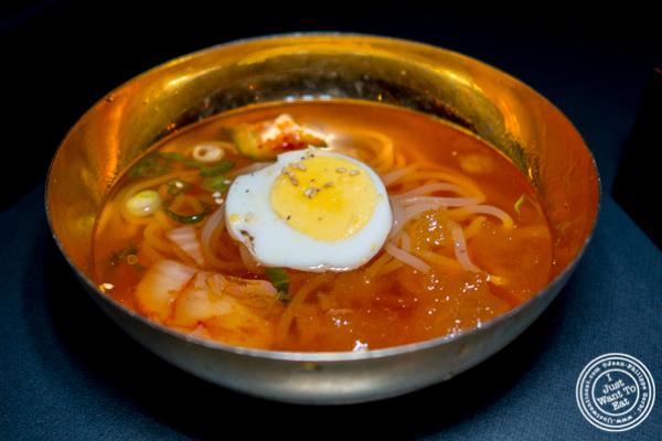 Cold noodles at Yakiniku Futago in NYC, NY