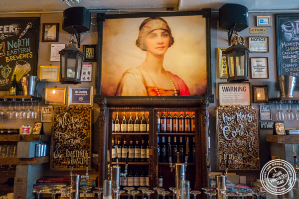 Portrait at The Baroness in Long Island City