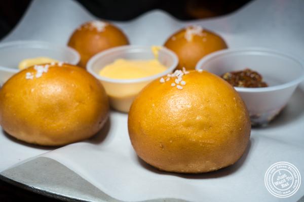 Bretzel balls at The Baroness in Long Island City
