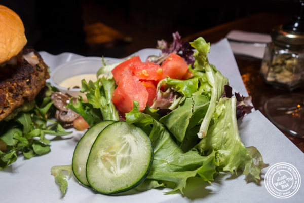 House salad at The Baroness in Long Island City