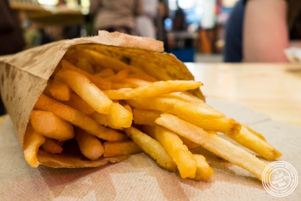 French fries at Hard Times Sundaes in Urbanspace Vanderbilt