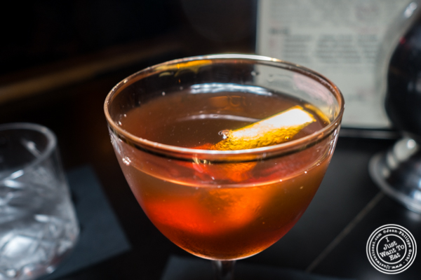 Stone's Throw From Manhattan at  Antique Bar & Bakery in Hoboken, NJ
