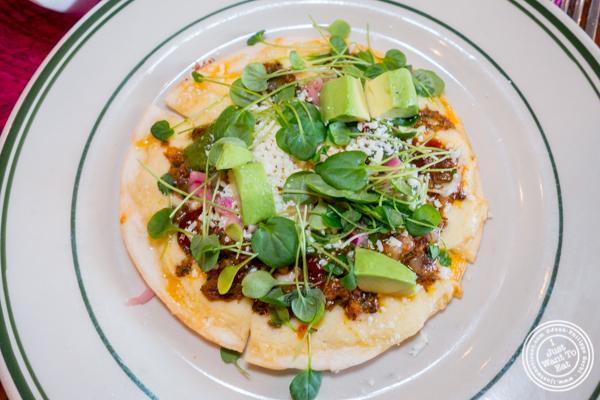 Quesadilla de Costilla at Tacuba in Hell's Kitchen, NYC, NY