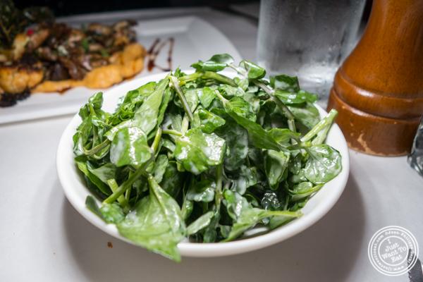 Salad at Raoul's in Soho, NYC, NY