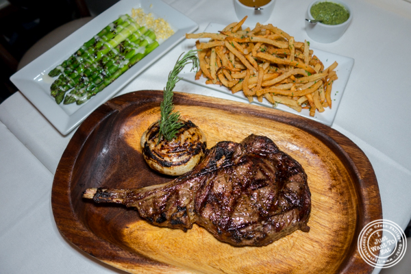 Gaucho ribeye at Chimichurri Grill West in Hell's Kitchen