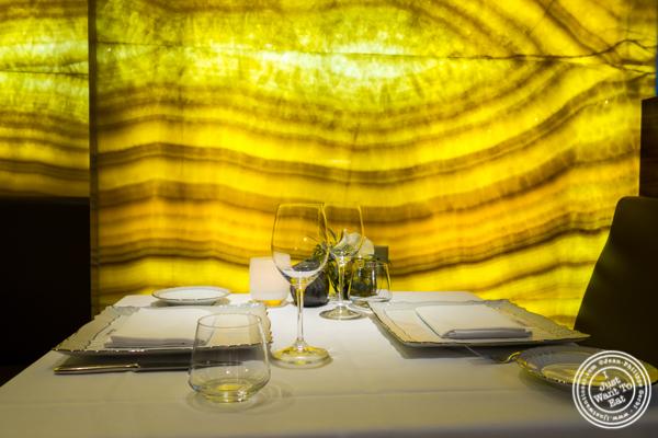 Dining room at Marea in NYC, NY
