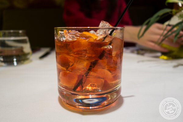 Old fashioned at Marea in NYC, NY