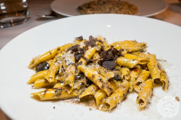Garganelli pasta at Marea in NYC, NY