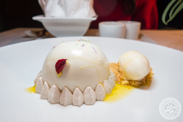 Delizie al limone dessert at Marea in NYC, NY