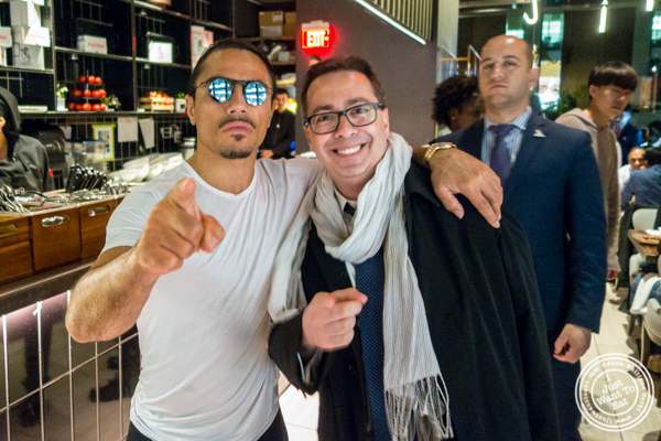 Saltbae and me at Nusr-Et Steakhouse in NYC