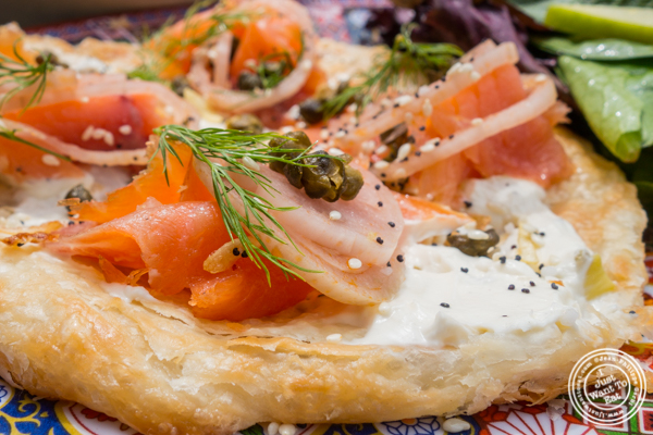 Everything roti and lox at Talde in Jersey City