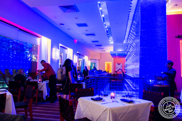 Dining room at Rosa Mexicano near the Lincoln Center
