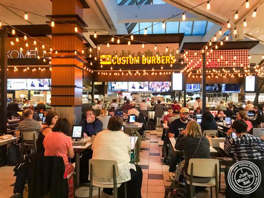 Custom Burgers by Pat LaFrieda in LaGuardia Airport