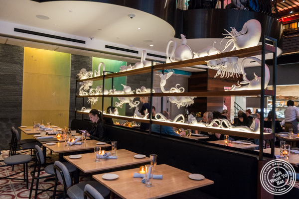 Dining room at Empellon Midtown in NYC, NY
