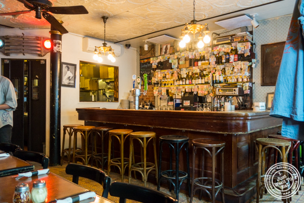 Bar area at Emmett's in NYC, NY