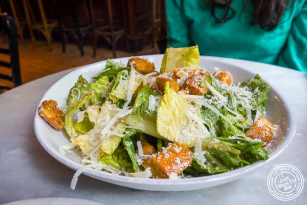 Caesar salad at Emmett's in NYC, NY