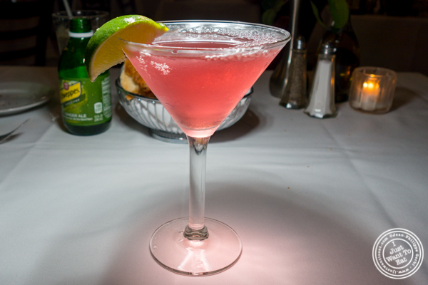 The New Fashion cocktail at Il Falco in Long Island City