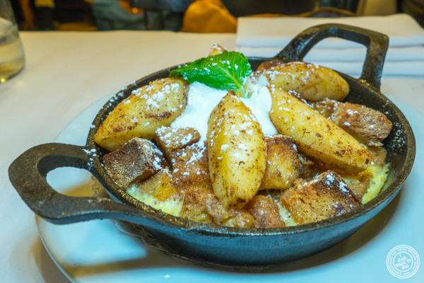 French toast casserole at Le Singe in NYC, NY