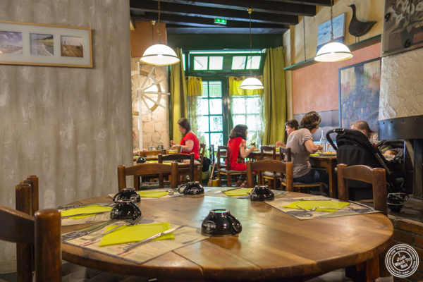 Dining room at Creperie Cadet Rousselle in Grenoble, France