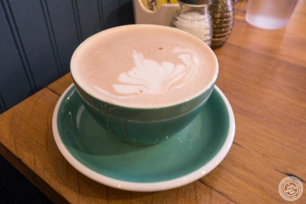 Hot chocolate at Tosti in Hoboken, NJ